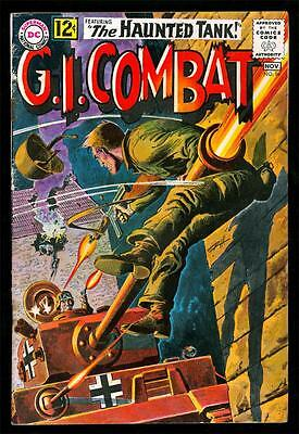 G.i. Combat 96 4.0 Vg 1962 Dc War Wash Toned-C Heath
