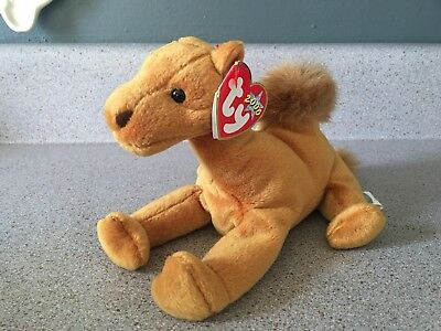 Retired TY Beanie Baby Babies 2000 Collection NILES Brown Camel Humpback Toy