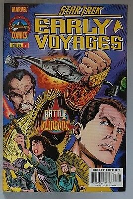 Marvel Comics Star Trek Early Voyages # 2 Cover A (1997 Series) , 1st Print , NM