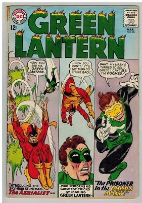GREEN LANTERN (1960-1988) 35 VG-  March 1965 COMICS BOOK