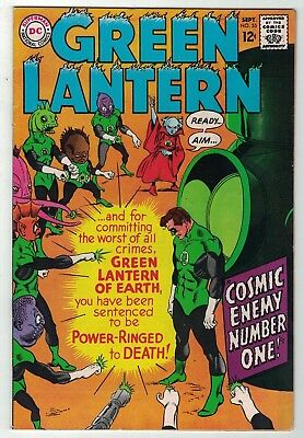 GREEN LANTERN (1960-1988) 55 F-VF September 1967