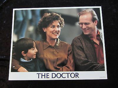 THE DOCTOR lobby card # 3 - WILLIAM HURT