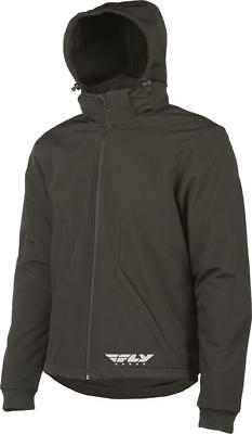 Fly Racing Armored Tech Hoody Black Small