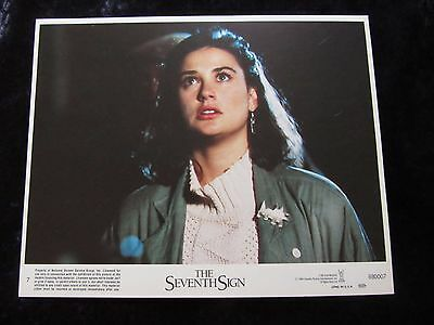 The Seventh Sign lobby cards - Demi Moore - mini set of 8