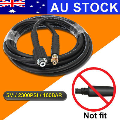 AU 5M/15FT 2300PSI High Pressure Cleaner Washer Washing Hose For Karcher K2