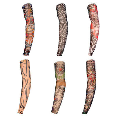 Manche Manchette Tatouage Tattoo Tatoo Temporaire Couvre Bras Collant Sleeve NF