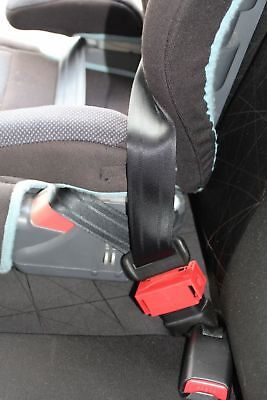 BuckleSafe! Car Seatbelt Security Device Seat Belt Lock