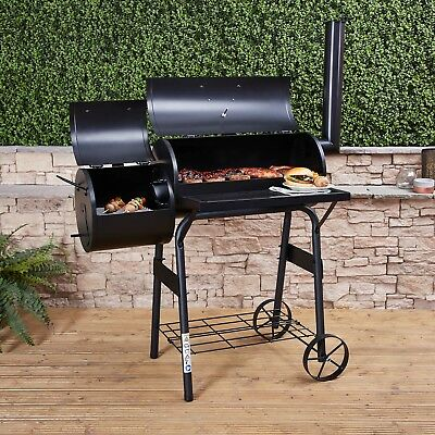 Fire Mountain Charcoal Barbecue Smoker