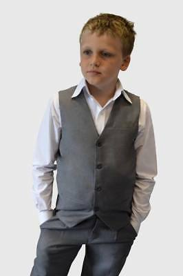 Boys Suit Size 12 Grey Suit Grey Boys Suit Wedding Suit