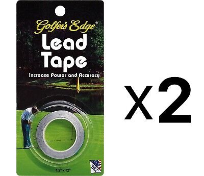 Unique Golf Lead Weight Tape Putter Club Golfer Accessory Heavy Duty 934 (2Pack)