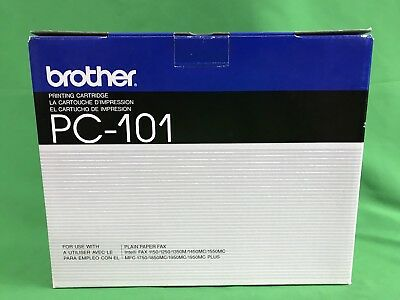Brother Printing Cartridge Pc-101 For Plain Paper Fax - New In Box - Free Ship