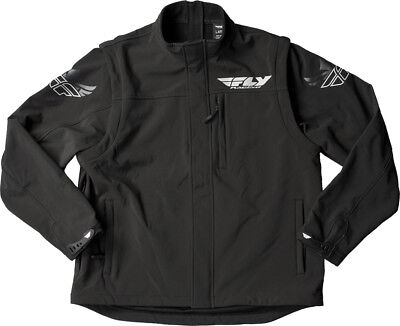 Fly Racing Black Ops Convertible Jacket 2X