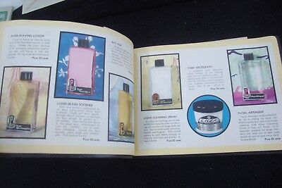1941 Pitkin Spices Cosmetics Cream Powders Perfumes Color Catalog!