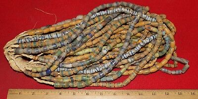 Bundle of (20) Strands of Sandcast Trade Beads #14....Buy It Now