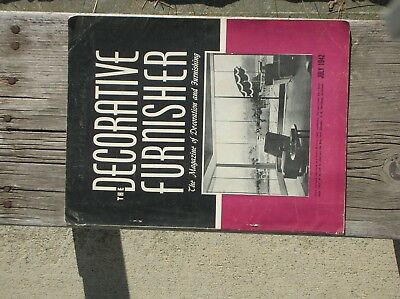 The Decorative Furnisher July 1942 The Magazine of Decoration and Furnishing