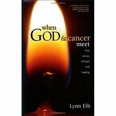 When God & Cancer Meet: True Stories of Hope and Healin - Paperback NEW Eib, Lyn