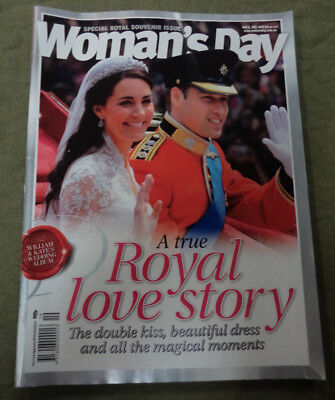 #t76.  Woman's Day Magazine 9 May 2011 - Prince William & Kate Royal Wedding