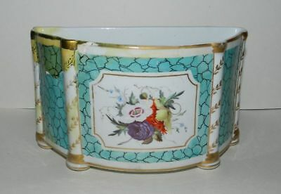 Chamberlain Worcester Bough Vase 1804-1805 (A/f) - Rare In Any Condition