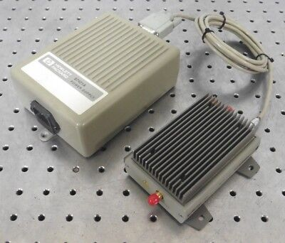 C147177 Agilent 83050A 2-50GHz Microwave System Amplifier w/ Cable, 87421A Power