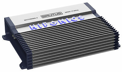 Hifonics BXX800.4 800 Watt RMS 4-Channel Amplifier Class AB Brutus Car Audio Amp