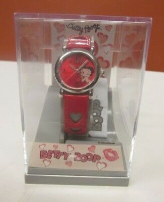 Betty Boop Watch Red Heart Wristband