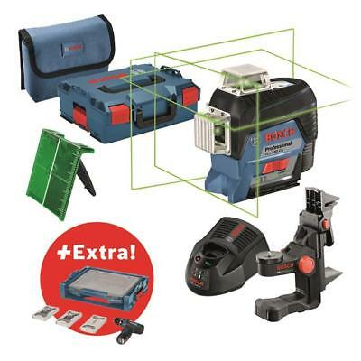 Bosch Line laser GLL 3-80 CG, incl. Mobility Kit and 39 pcs Accessory Set