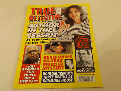 TRUE DETECTIVE MAGAZINE,JUNE,2017 ISSUE,VERY GOOD FOR AGE,01 yr old,V RARE.