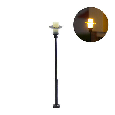 LYM05 Neu 10 Stk. LED Parklaternen Lampen 50mm 12-18V H0 / 00