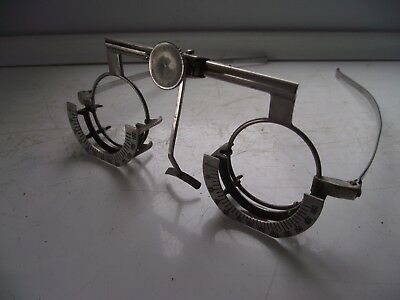 Vintage Optometrist Eye Test Glasses Ophthalmic Equipment V Good See Pictures