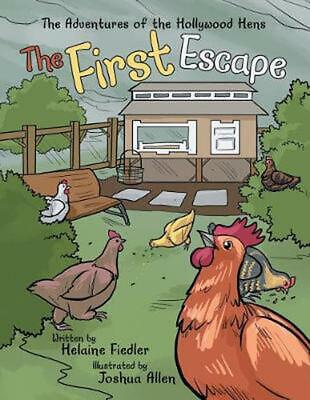 First Escape by Helaine Fiedler Paperback Book Free Shipping!