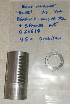 "Emco Maximat V10 ""BLUE"" Vertical Milling Parts: Quill Bearing Housing #2 020618"
