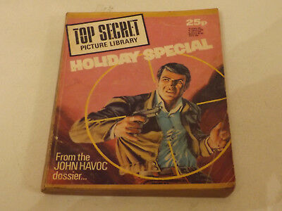TOP SECRET PICTURE LIBRARY,HOL SP,1976 ISSUE,GOOD FOR AGE,42 yrs old,RARE COMIC.