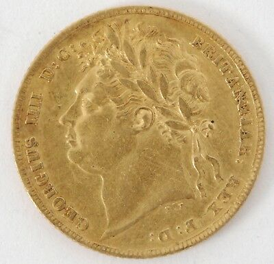 Exceptional George IV 1824 Gold Full Sovereign