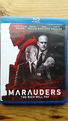 Marauders (Blu-ray Disc, 2016) Former Rental Excellent Condition