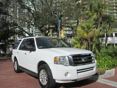 2011 Ford Expedition XLT Florida 2011 Ford Expedition 4X4 Luxury SUV Leather 8 Passenger MSRP was $45,045