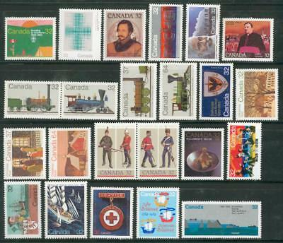 Canada Michel Nr.887-921 **MNH from 1983-84 Kanada ep48