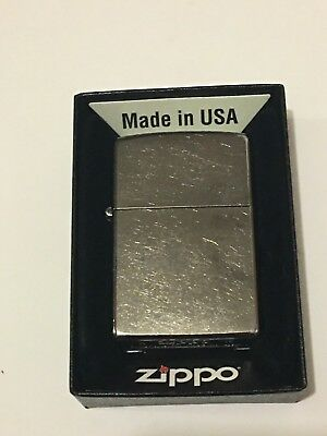 Zippo 207 Regular Street Chrome Windproof Lighter - New In Box