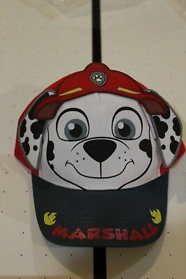 Paw Patrol Marshall Toddler Baseball Cap Hat With Ears _________ R19E1