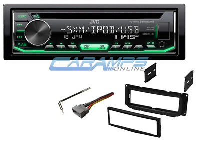 NEW JVC CAR Stereo Sirius Xm Radio Cd Player Receiver With Installation Kit