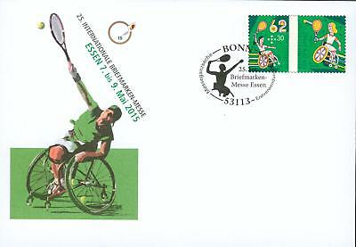 Germany GA Brief o  Behinderten Tennis Paralympics hw11