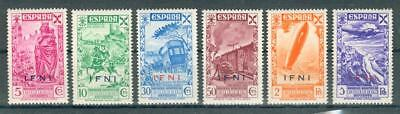 IFNI Spain rare special stamps ** MNH Spanien cc79