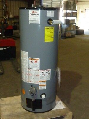 NEW Rheem Ruud (G60-50N-1) 60 Gallon Commercial Natural Gas Water Heater 50K BTU