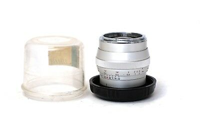 ☆EXC+++☆ Zeiss Distagon 25mm f/2.8 lens. Contarex mount. With protection case