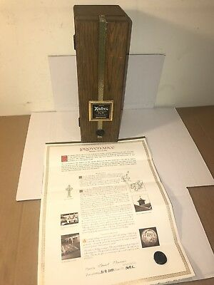 """Ardbeg Provenance Scotch NON Whisky ONLY """"WOODEN BOX W LETTER"""" LMTD EDITION"""