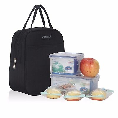 Cooler Lunch Box Insulated Lunch Bag For Men &Women Meal Prep Lunch Tote Holder
