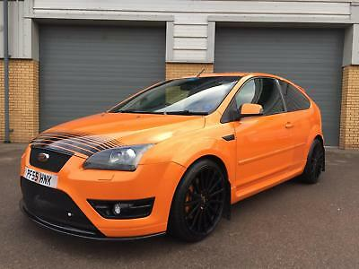 ford focus st 2 orange block mod milltek exhaust 19 rs. Black Bedroom Furniture Sets. Home Design Ideas