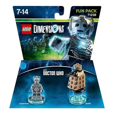 LEGO Dimensions - Doctor Who - Cyberman and Dalek Fun Pack (New & Sealed)