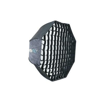 "Phottix Pro Easy Up HD Umbrella Octa Softbox with 31.5"" Grid and Varos Pro S Kit"