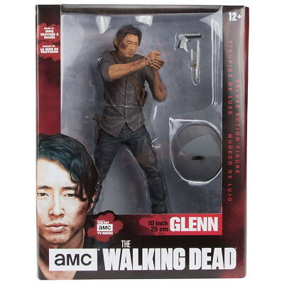 WALKING DEAD Figur GLENN Legacy Edition (Bloody) 25cm Deluxe Version NEU+OVP
