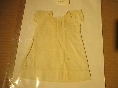 """Vintage Doll Baby Clothes Collector Night Shirt 16"""" to 18"""" ? Doll Antique"""